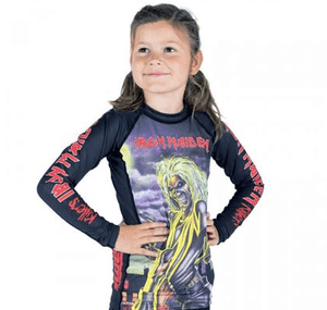 Tatami x Iron Maiden Killers Kids Rash Guard