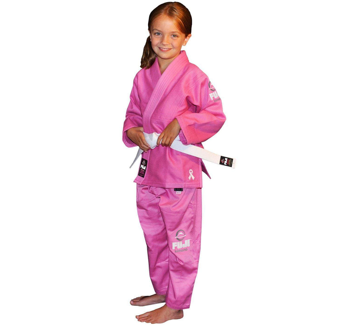Fuji All Around Kids BJJ Gi - Pink