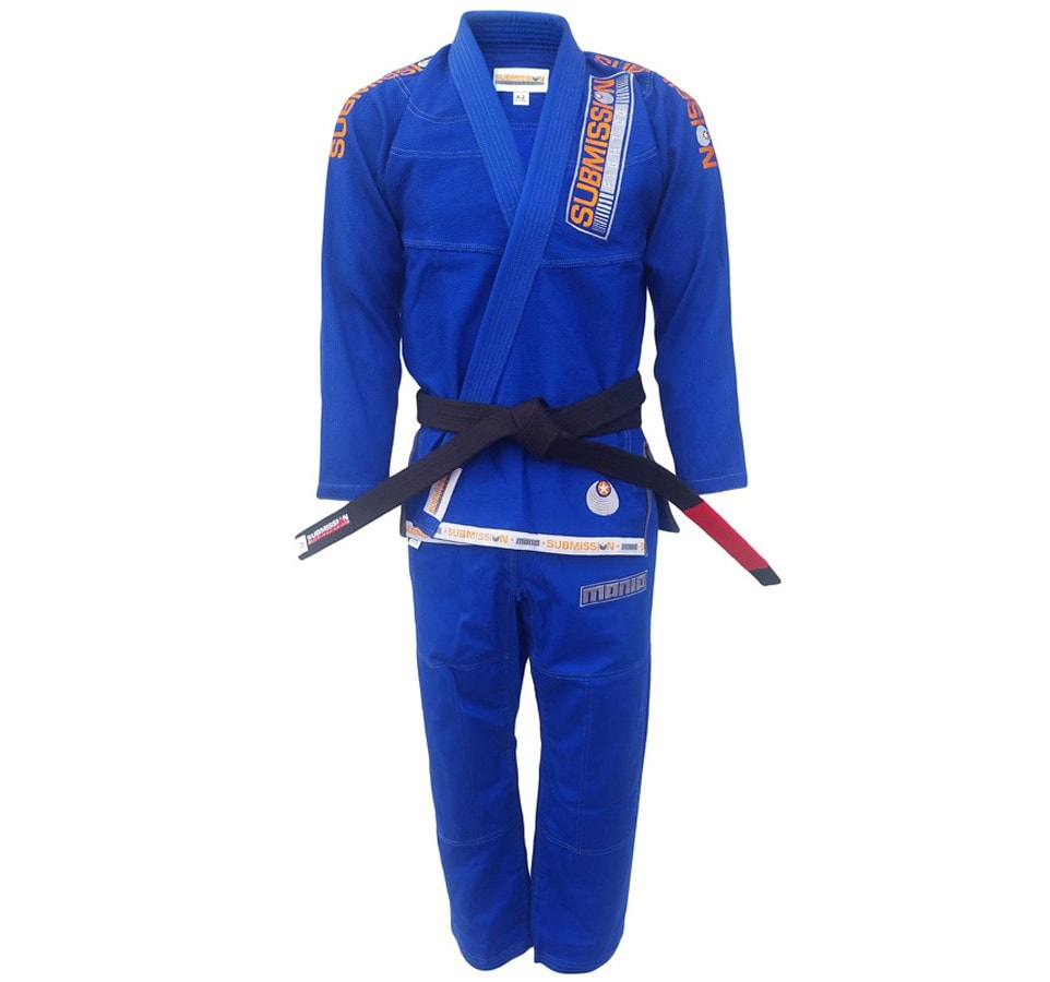 "Submission ""Mania"" Gi Color Blue Front View"