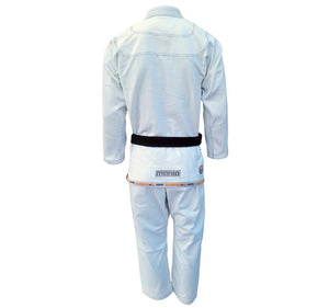"Submission ""Mania"" Gi Color White Rear View"