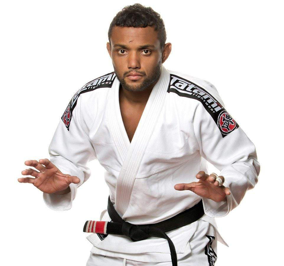 Tatami Nova 2015 BJJ Gi Color White Model View