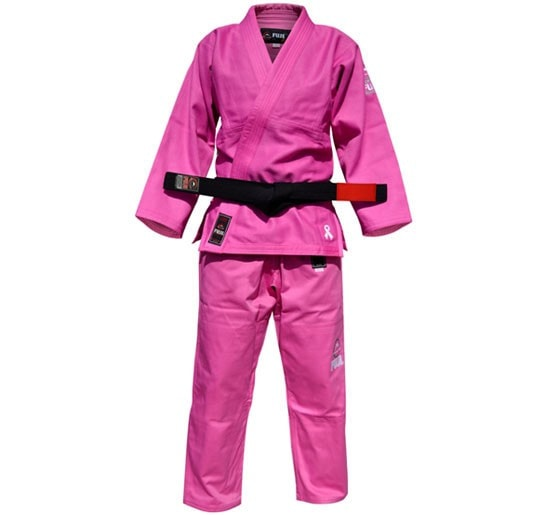 Fuji All Around Adult Gi Color Pink Front View