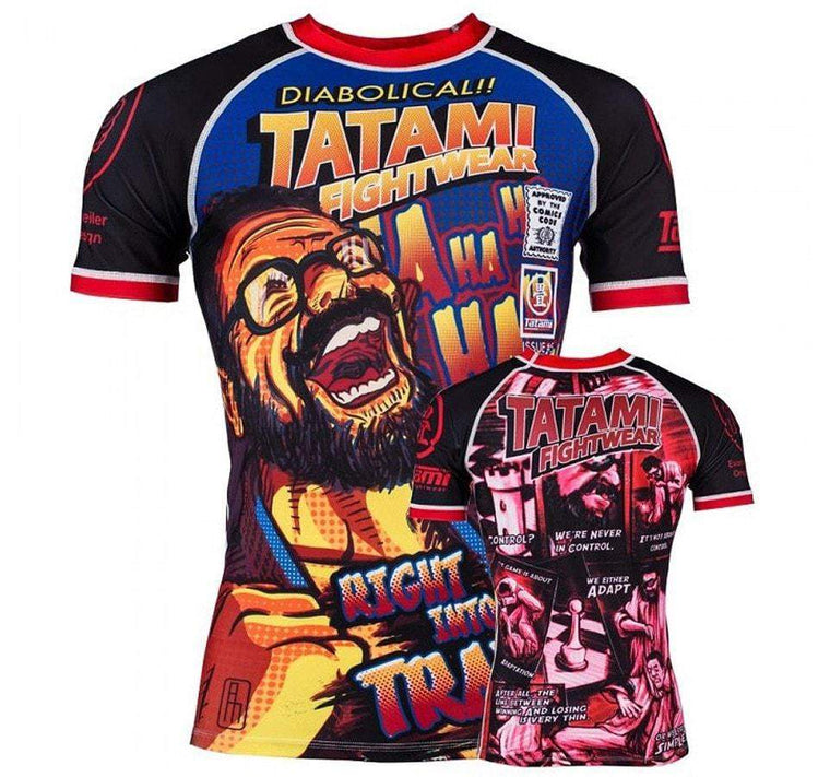 Tatami The Professor Rash Guard Front and Back