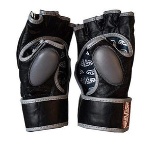 Seven Hybrid MMA Gloves Open Palm View
