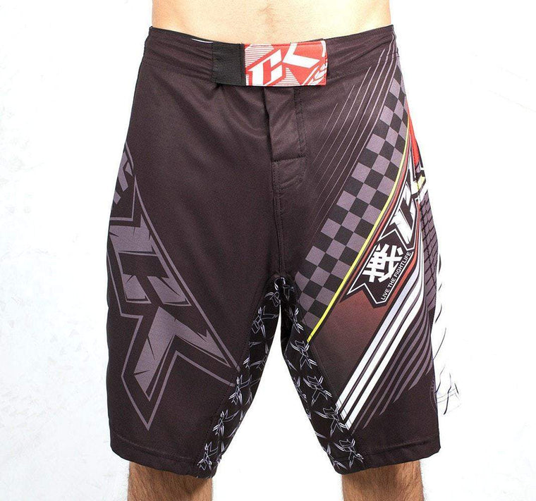 Contract Killer Speed Shorts Ultralight - Red - Front