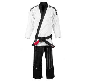 Tatami Inverted Gi - White and Black Front