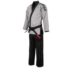 Tatami Inverted Gi - Grey/Black Left Side