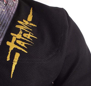Tatami Dragon Fly Gi by Meerkatsu Jacket Logo Closeup