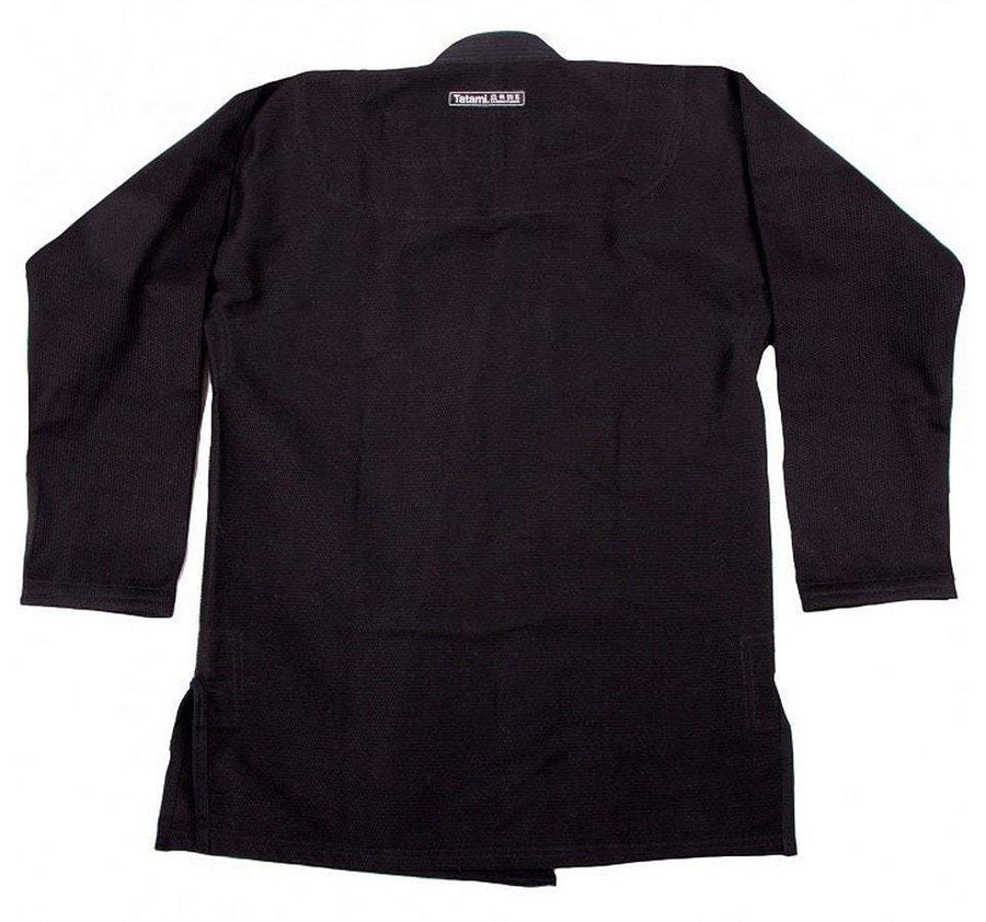 Tatami Academy Fundamental BJJ Gi - Black - Jacket Front