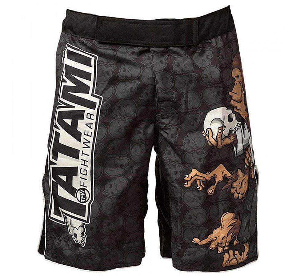 Tatami Thinker Monkey Shorts - Front