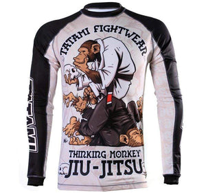 Tatami Thinker Long Sleeve Rash Guard Front View