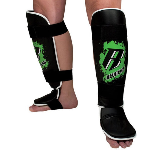 Revgear Youth Shin Guards Front