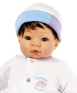Newborn Munchkin - Brown Hair/Blue Eyes