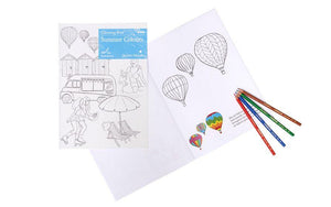 Summer Colours Colouring  Book