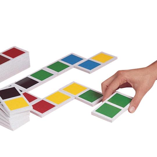Jumbo Colour Dominoes