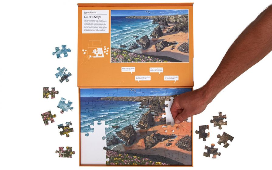Giant's Steps 63 Piece Puzzle