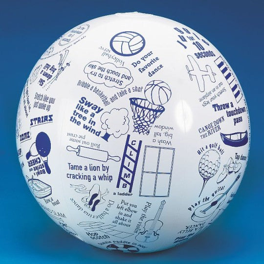 Toss 'n Talk-About® Movement Ball