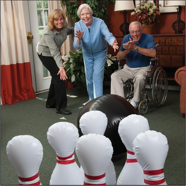 Jumbo Inflatable Bowling Set Item