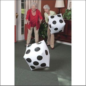 Jumbo Inflatable Dice (each)