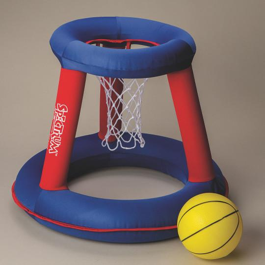 Inflatable Portable Basketball Hoop and Ball