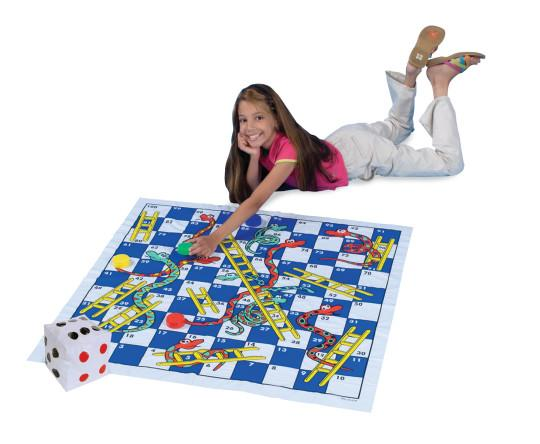 Jumbo Snakes and Ladders Game