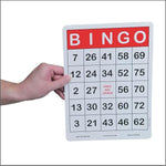 Jumbo Bingo Cards (100 pack)