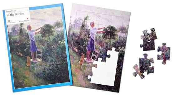 In the Garden 24 Piece Plastic Puzzle