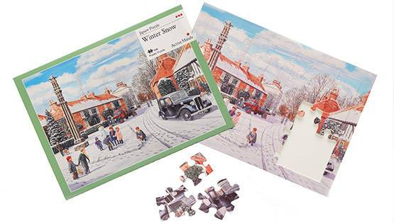 Winter Snow 35 piece plastic puzzle