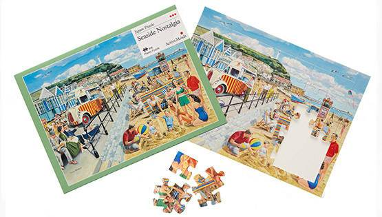Seaside Nostalgia 35 piece plastic jigsaw