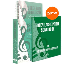 BUNDLE Green Book CD/Green Large print song book