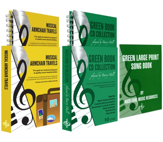Musical Armchair Travels & Green Book CD Collection BUNDLE