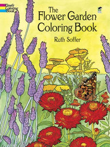 The Flower Garden Colouring Book