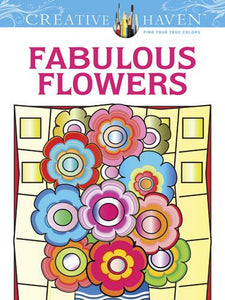 Fabulous Flowers Colouring Book