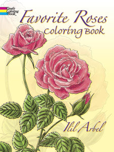 Favourite Roses Colouring Book
