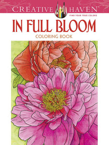 In Full Bloom Colouring Book