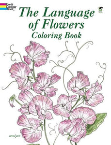 The Language of Flowers Colouring Book