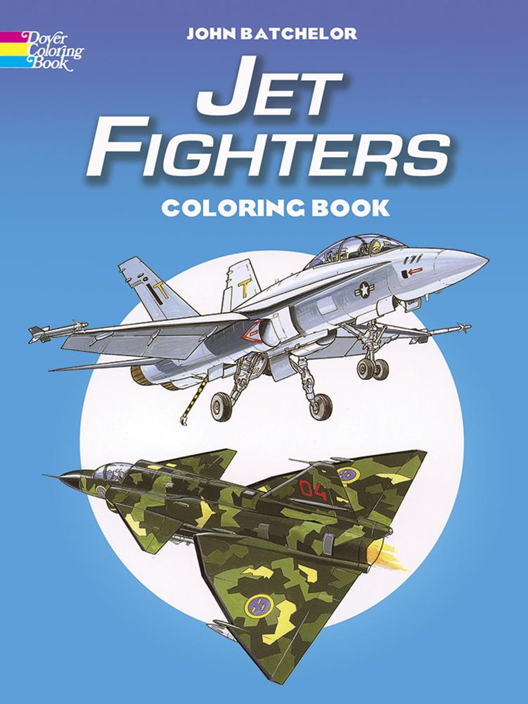 Jet Fighters Colouring Book