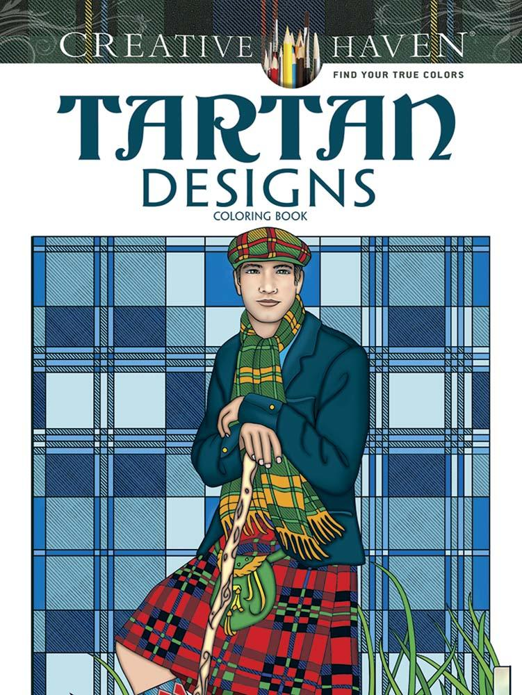 Tartan Designs Colouring Book