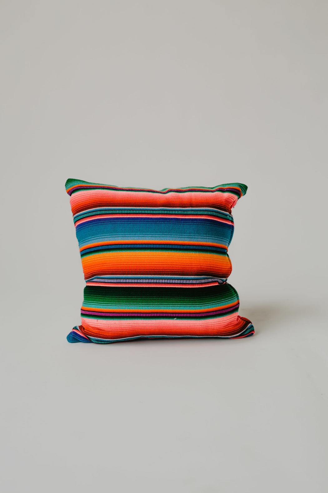 Woven Blanket Pillow (18 x 18) - Guatemalan Handbags // JOJI