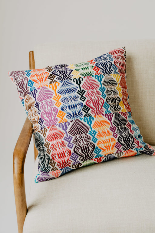 The Coban Pillow (20 x 20) - Guatemalan Handbags // JOJI