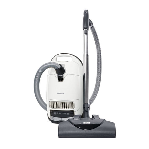Miele Complete C3 Cat & Dog Vacuum Cleaner, Lotus white