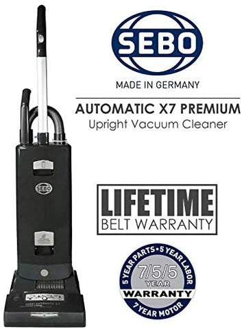 SEBO Automatic X7 Premium Boost, 91543AM Graphite