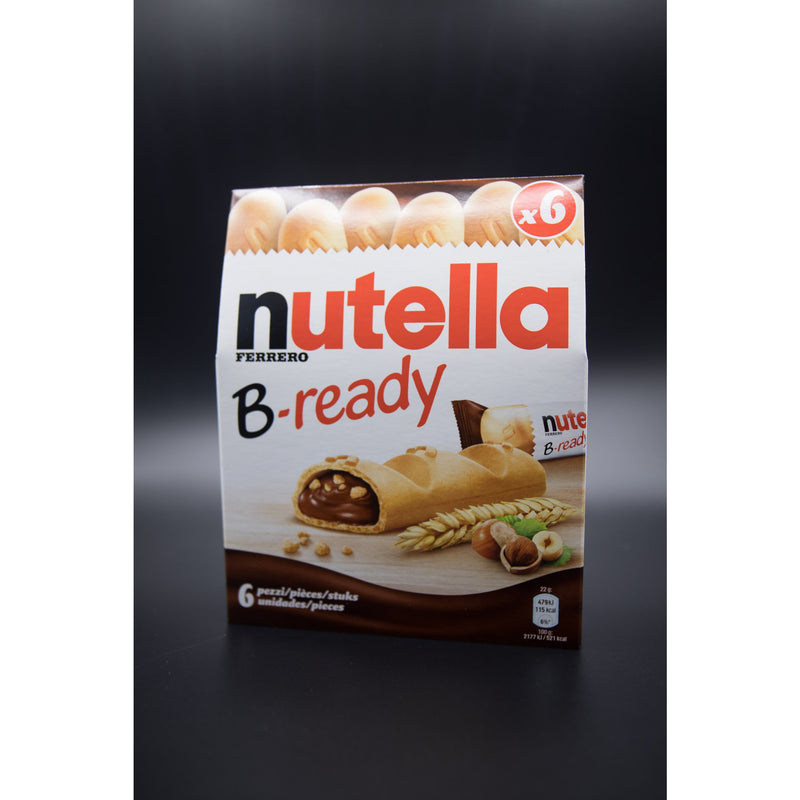 Nutella B-ready 6 Stick Pack [Middle East]