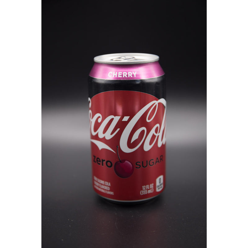 Coca Cola Cherry Zero Sugar 355ml (USA)