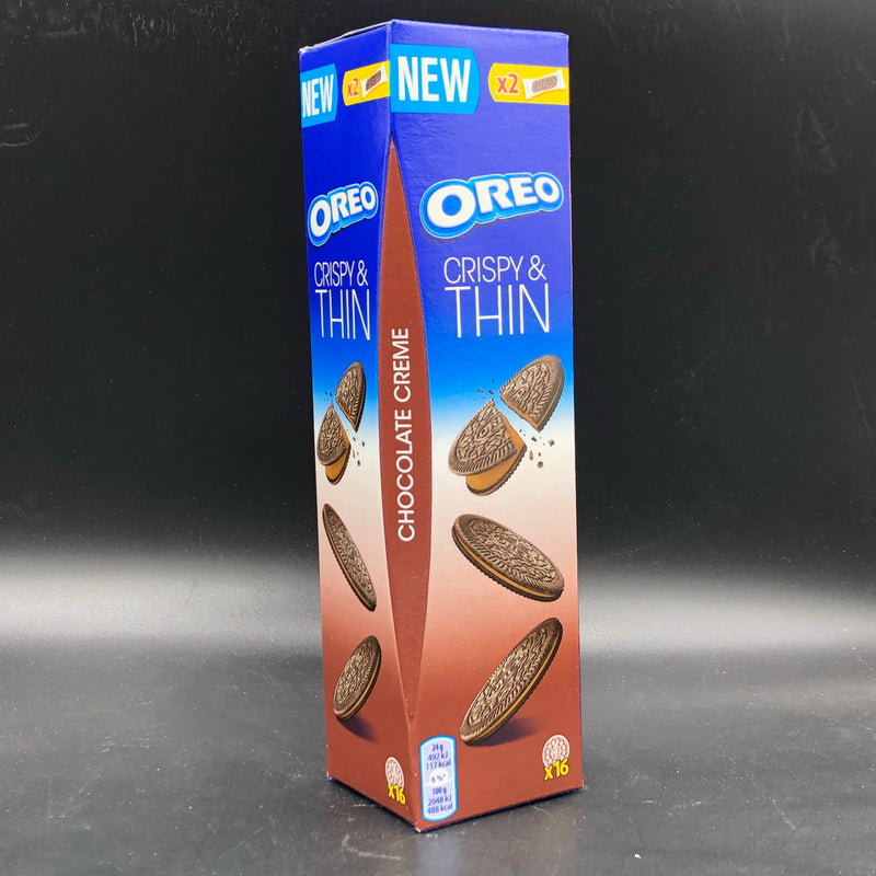 Oreo Crispy and Thin Chocolate Creme - 2- Pack 96g (Euro)