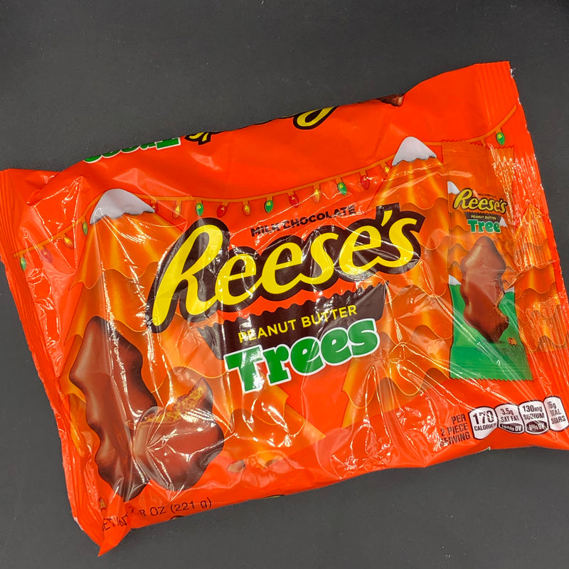 Reese's Peanut Butter Tree Bags 221g (USA) CHRISTMAS SPECIAL