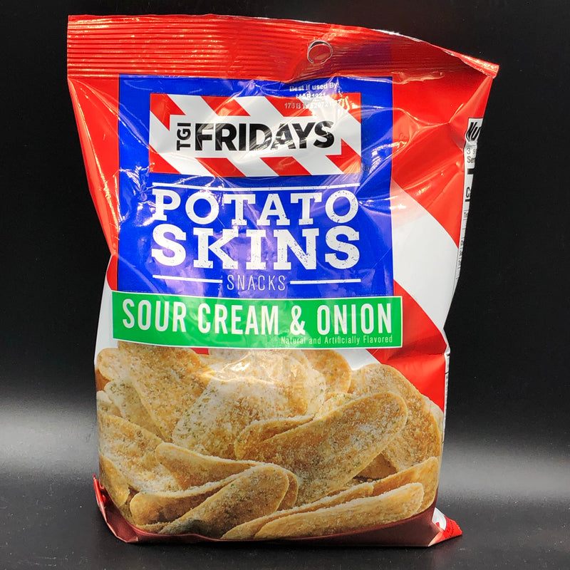 TGI Friday's Potato Skins Snacks - Sour Cream & Onion Flavour 85g (USA)