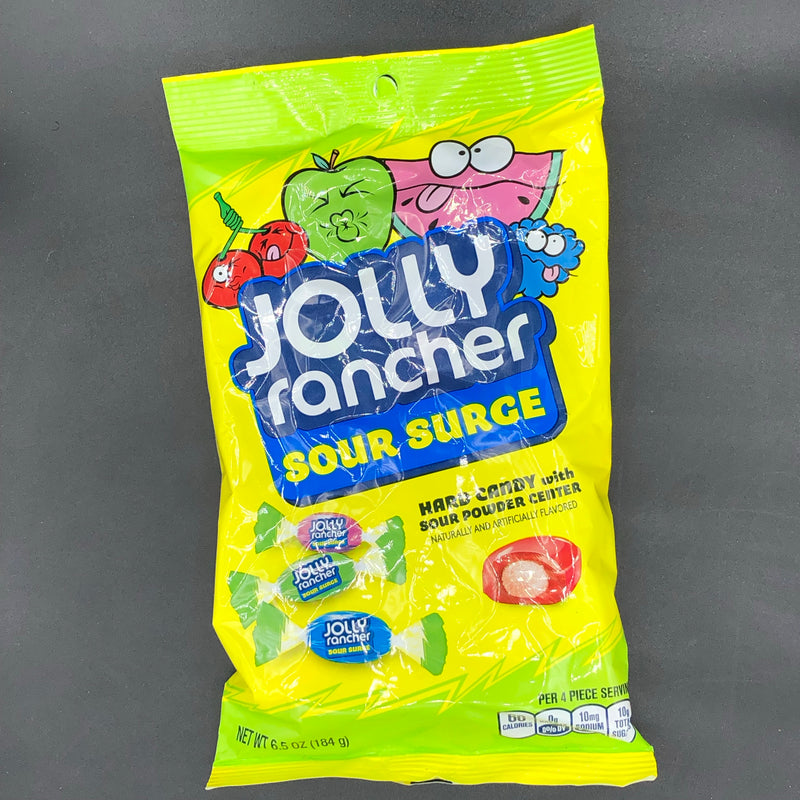 Jolly Ranchers Sour Surge Hard Candy 184g (USA)