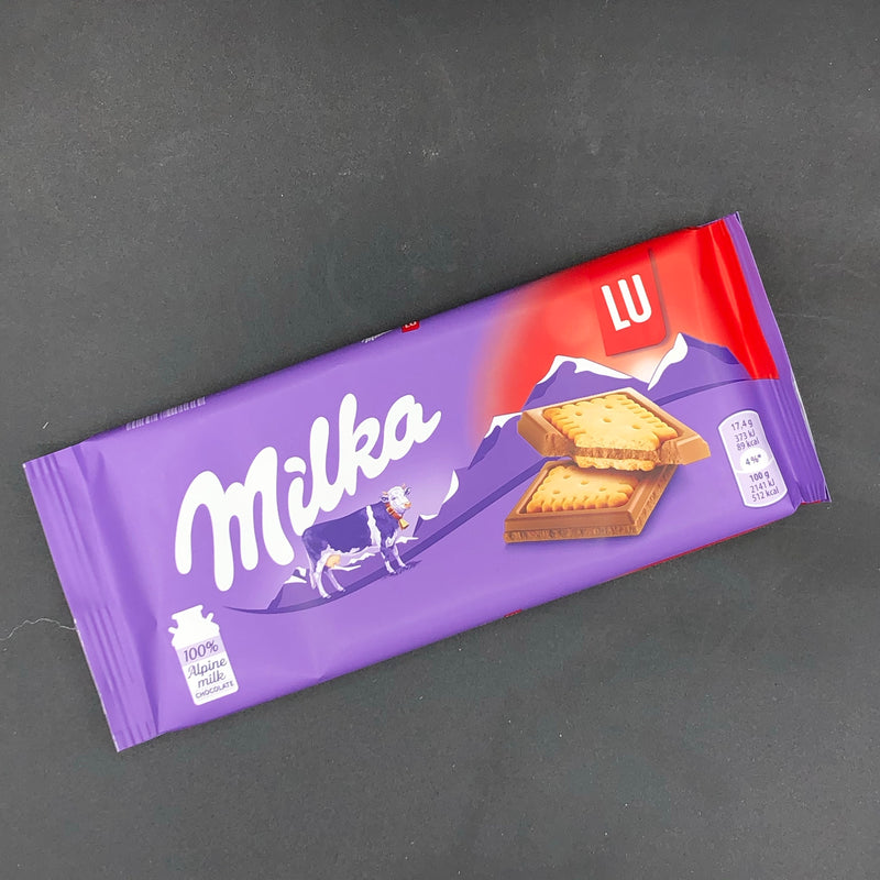 Milka LU 87g SPECIAL Biscuit Edition (EURO)