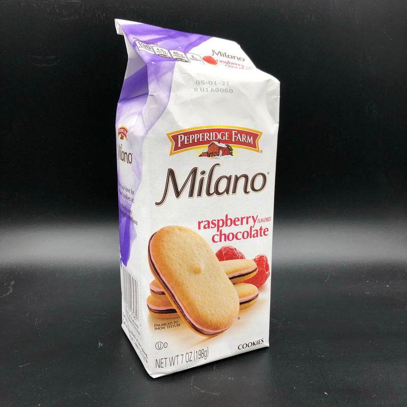Pepperidge Farm Milano Raspberry Flavored Chocolate Cookies 198g (USA)